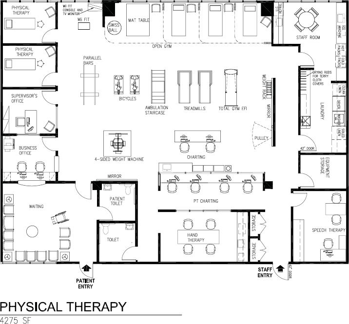 paramedical suites